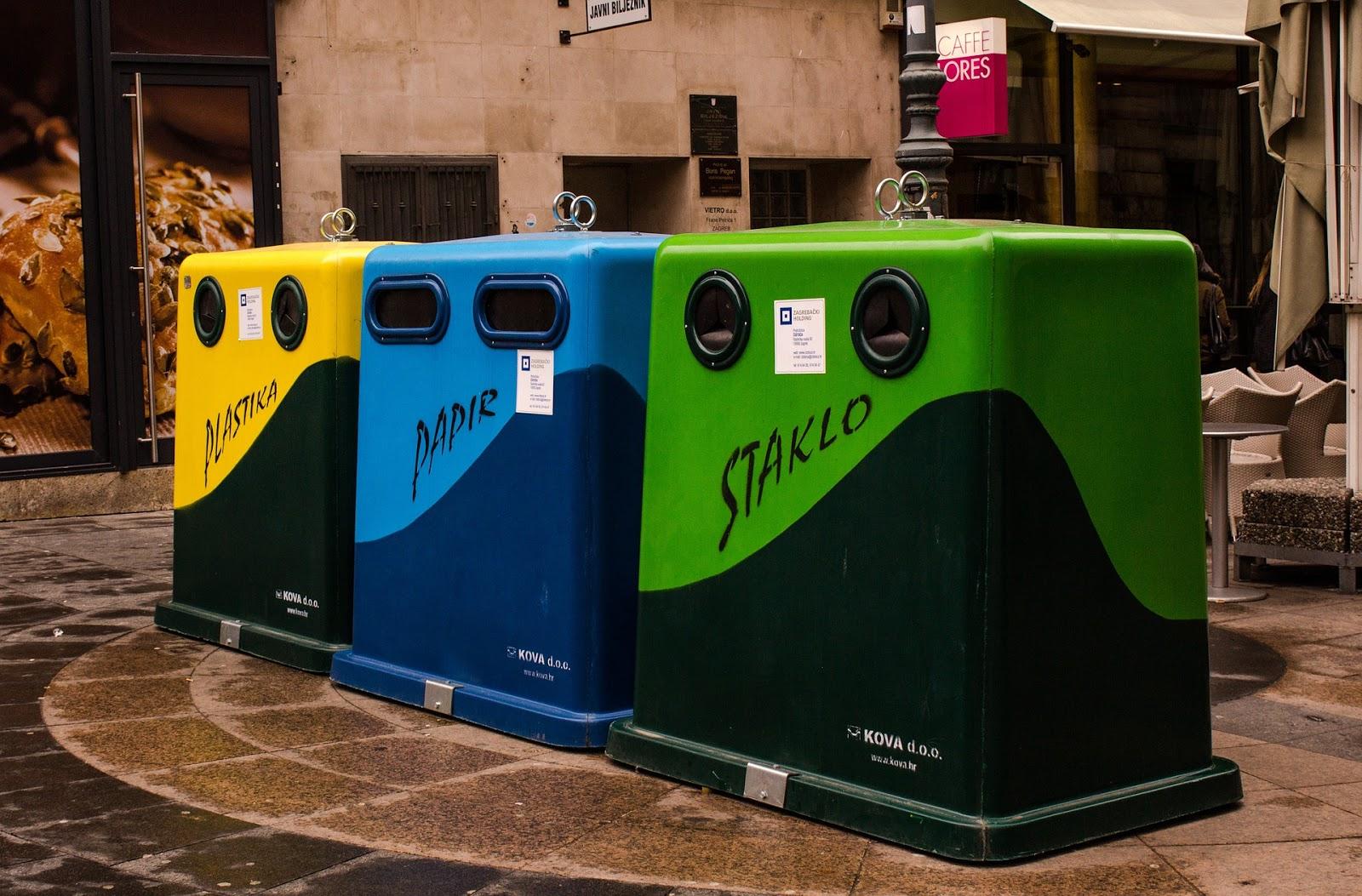 No 1 Junk Street World Recycling Waste Segregation