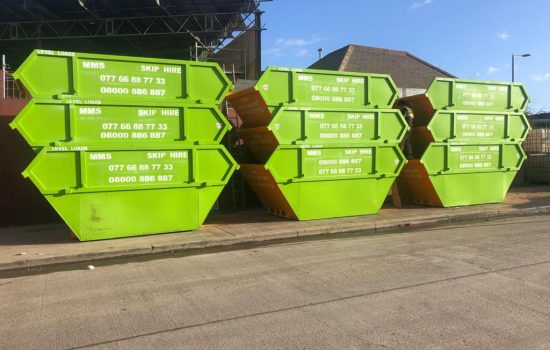 skip hire canning town