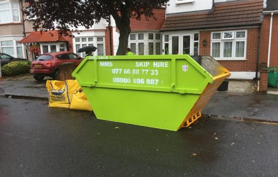 skip hire west ham